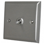 Spectrum Stainless Steel Toggle Light Switches